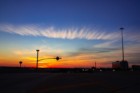 Sunset on Pinemont & 290