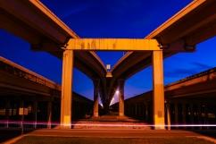 Under the highways in Kingwood, TX